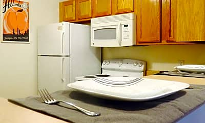 Kitchen, The Lowell, 1