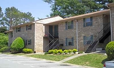Building, Shamrock Place Apartments, 0