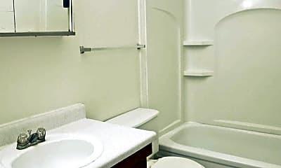 Bathroom, Village Square Apartments, 2