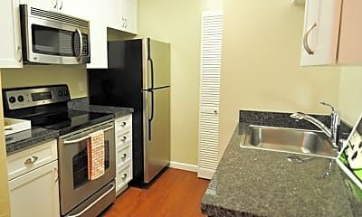 Kitchen, Heatherstone Apartments, 2