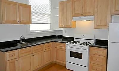 Kitchen, 1701 Bush St, 1