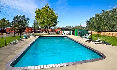 Pool, Maple Creek Village Apartments, 1