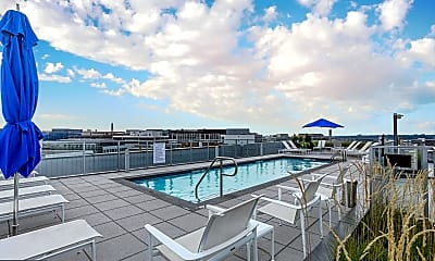 Pool, 1177 22nd St NW 4L, 2