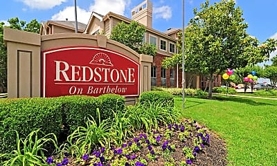 Community Signage, Redstone Apartments, 1