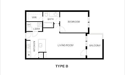 Building, 3221 Elihu St, 1