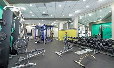 Fitness Weight Room, The Encore, 2