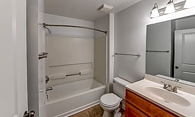 Bathroom, Crestview Apartments, 2