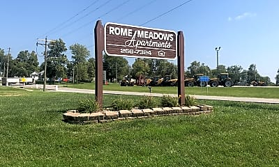 Rome Meadows Apartments, 1