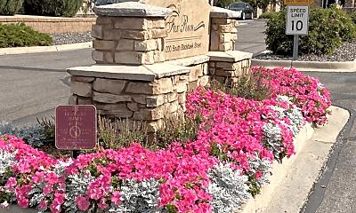 Community Signage, Fox Run Lofts, 2