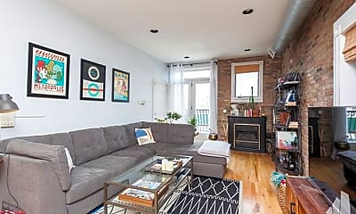 Living Room, 821 N Milwaukee Ave, 1