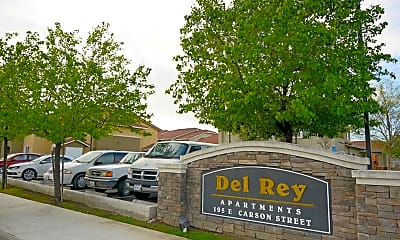 Community Signage, Colusa Del Rey Apartments, 2