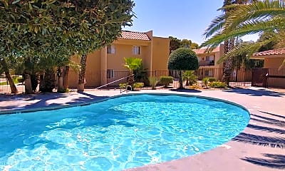 Pool, Intrigue Apartments, 1