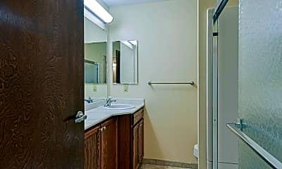 Bathroom, Governor's Manor Apartments, 2