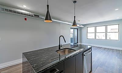 Kitchen, 526 Brown St 602, 1