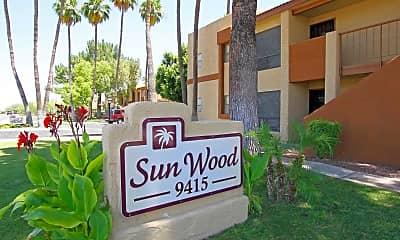 Community Signage, Sunwood Senior Apartments, 2