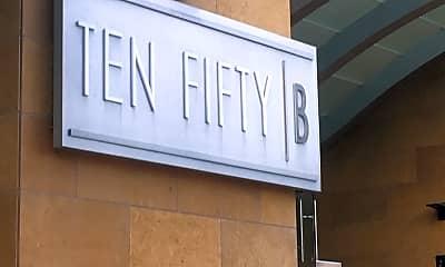 Ten Fifty B, 1