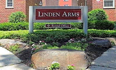 Community Signage, Linden Arms, LLC, 2