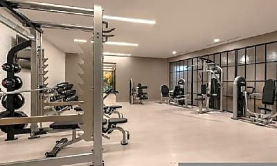 Fitness Weight Room, 2101 Wisconsin Ave NW, 1