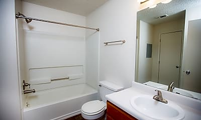 Bathroom, Union Hill Apartments, 2