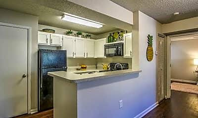 Kitchen, The Berkeley Apartments, 0
