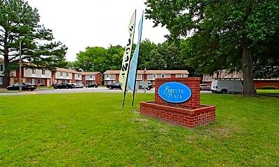 Community Signage, Ebbetts Plaza, 2