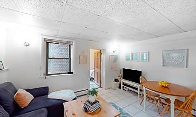 Living Room, 905 Beacon Street #5, 0