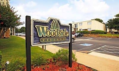Community Signage, Woodside Village, 2