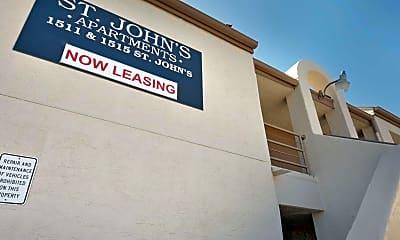 Community Signage, St. John's, 2