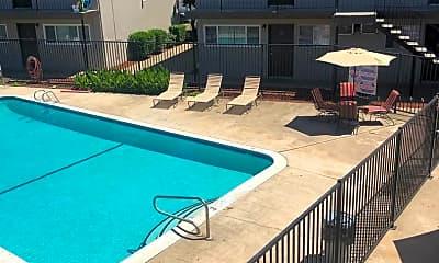 Pool, Orange Grove Apartments, 2