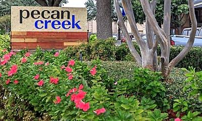 Community Signage, Pecan Creek Apartments, 0