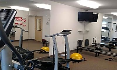 Fitness Weight Room, Vintage at Burien - Senior Living, 2