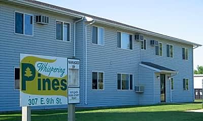 Building, 307 E 9th St, 1
