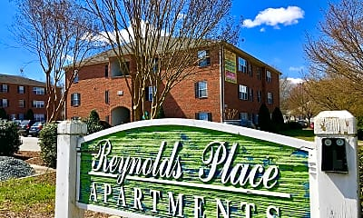 Community Signage, Reynolds Place, 2
