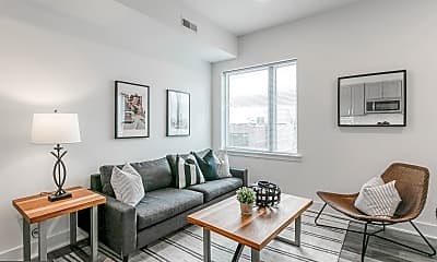 Living Room, 1520 South St 304, 1