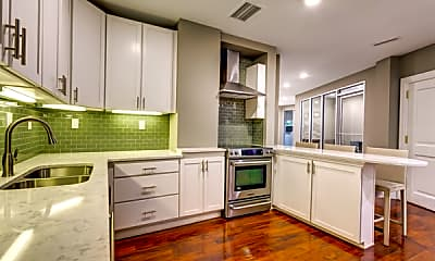 Kitchen, The James Apartments, 0