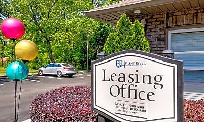 Community Signage, Flint River Apartment Homes, 2