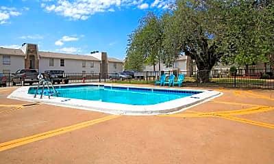 Pool, Brock Creek Apartments, 1