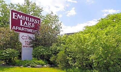 Emhurst Lake Apartments, 0