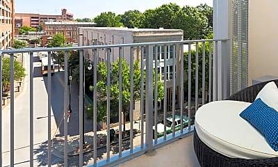 Patio / Deck, SkyHouse Raleigh, 2