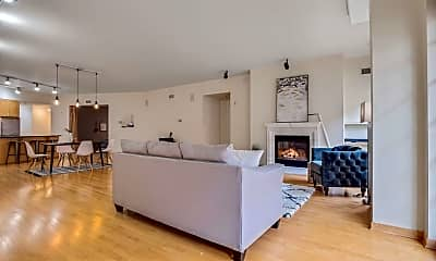 Living Room, 408 N 1st St 502, 1
