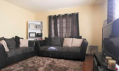 Living Room, Pennsylvania Apartments, 1