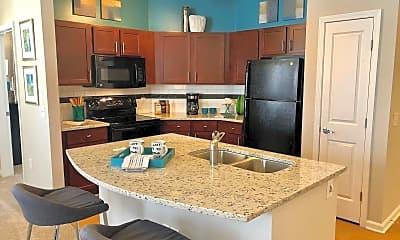 Kitchen, Level at 401, 0