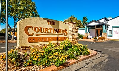 Community Signage, The Courtyard Apartment Homes, 2