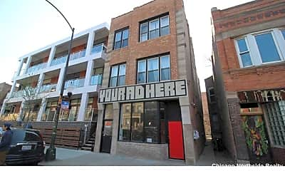 Building, 1050 N Damen Ave., 2