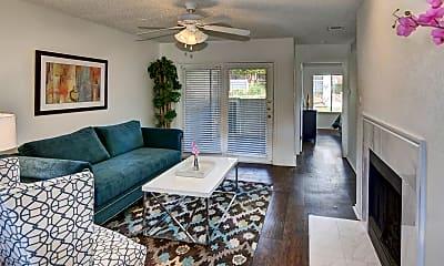 Living Room, The Trellis At Lake Highlands, 1