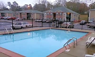 Pool, Blossom Apartments, 0