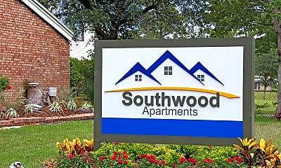 Community Signage, Southwood Apartments, 2