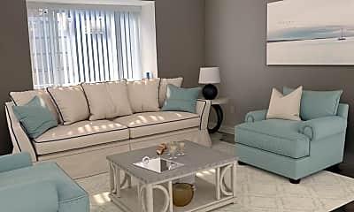 Living Room, 709 Lamar Pl, 1