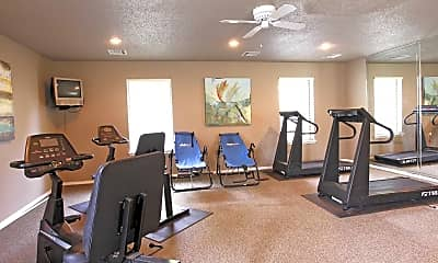 Fitness Weight Room, East Oaks, 2