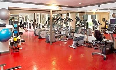 Fitness Weight Room, 2400 Yorktown, 1